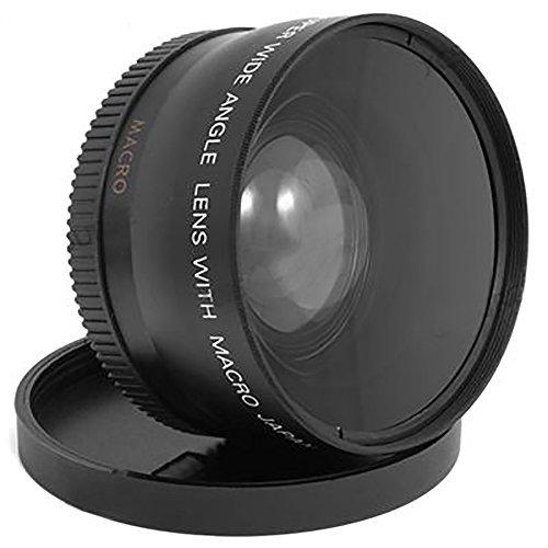 MP power ® 58 mm 0.45X grandangolare + obiettivo macro per Canon EFS 18-55mm EFS 55-250mm EF 70-300mm EF 50mm, Nikon AF-S NIKKOR 50mm f/1.8G, Nikon AF-S NIKKOR 50mm f/1.4G, AF-S DX NIKKOR 55-300mm F4.5-5.6 G