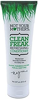 Not Your Mothers Conditioner Clean Freak Refreshing 8 Ounce (235ml) (2 Pack)