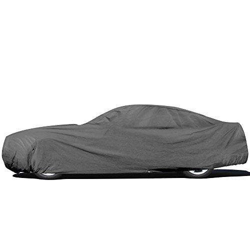 OxGord Car Cover - Basic Out-Door 4 Layers - Tough Stuff -...