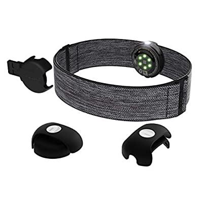POLAR OH1+ Optical Heart Rate Sensor, Bluetooth/ANT+, Gray