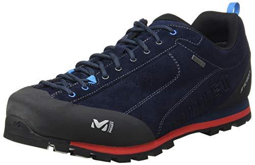 Millet Friction GTX, Chaussures de Randonnée Basses Mixte, Bleu (Saphir/Rouge 7487), 44 2/3 EU