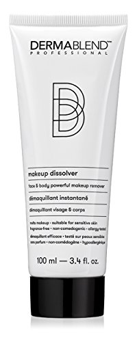 Dermablend Makeup Remover Dissolver for Face and Body, 3.4 Fl Oz
