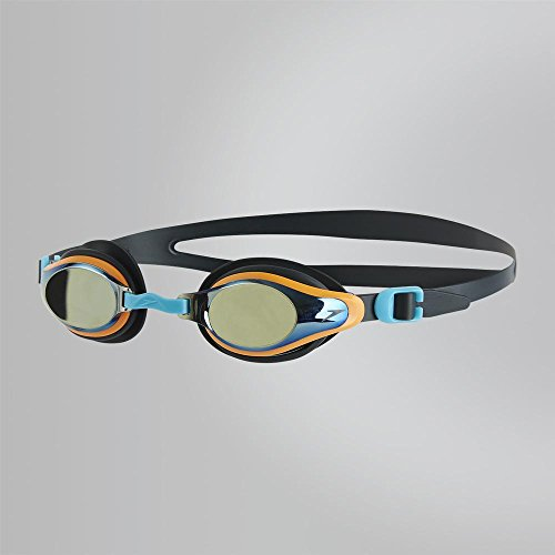 Speedo Kinder Goggles Mariner Supreme Mirror Junior, Oxid Grey/Jaffa/Titanium, One Size, 8-11320B999