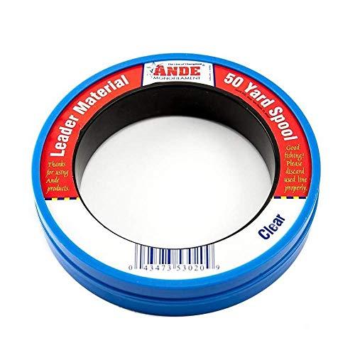 Ande PCW50-60 Mono Leader Wrist Spool, 50-Yard, 60-Pound