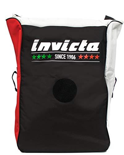 Invicta Rucksack Team Duffle Pack Ercolino schwarz/rot/weiß