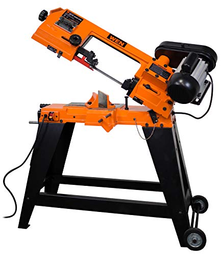 WEN 3970T Metal-Cutting Vertical Band Saw with Stand