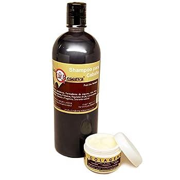 Yeguada la Reserva Shampoo y Colageno Kit Organic Anti Hair Loss Grow Fast Regrowth