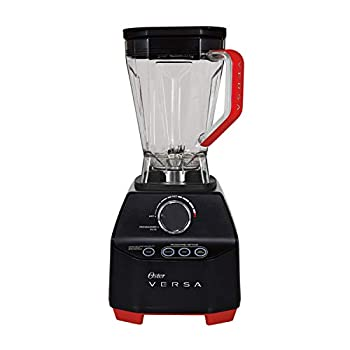 Oster Versa Blender | 1400 Watts | Stainless Steel Blade | Low Profile Jar | Perfect for Smoothies Soups Black
