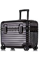 SGG スーツケース ファッション アルミフレーム メンズ レディース ノートパソコン収納 機内持込 ミニ 小型 キャリーケース ユニバーサルホイール ビジネス 撮影機材収納