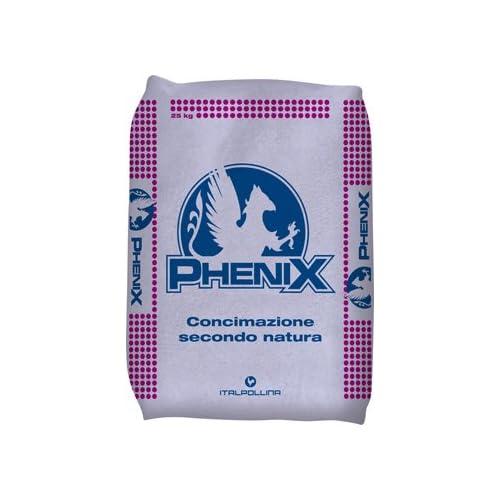 ITALPOLLINA CONCIME Organico Ricco di POTASSIO Phenix Sacco da 25 kg