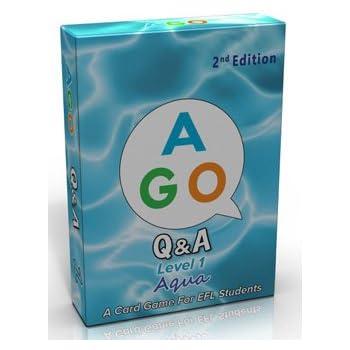 AGO Q&A アクア レベル1 第2版 英語 カードゲーム