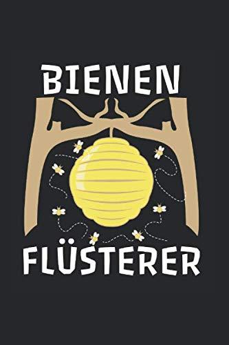 Bienen Flüsterer Imker Bienenstock Honig Wespe: Notizbuch (15,24cm x 22,86cm) 120 Seiten Kariert (4x4)