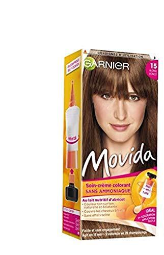 Garnier - Movida - Coloration temporaire sans ammoniaque Blond - 15 Blond Foncé