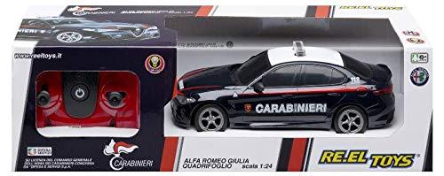 Re.El Toys Alfa Romeo Carabinieri R/C Mezzi Giocattolo Auto, Multicolore