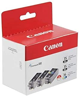 Canon (PGI-35, CLI-36) iP100 Ink Value Pack (Includes 2 of 1509B002 & 1 of 15...