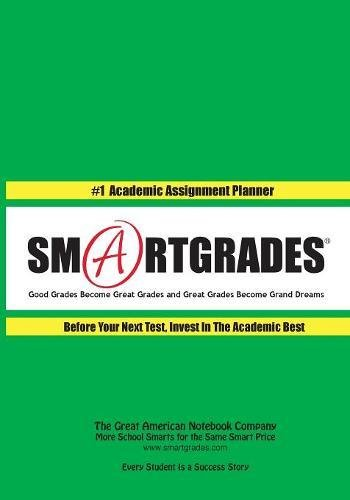 SMARTGRADES Homework Action Planner (150 Pages): 5 STAR REVIEWS: Teacher Approved! Student Tested! Parent Favorite! In 24 Hours