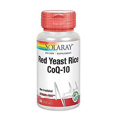 Solaray Red Yeast Rice + CoQ-10 | 60 VegCaps