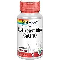 Solaray, Red Yeast Rice & CoQ10 60 Vtapas