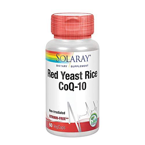 Solaray, Red Yeast Rice & CoQ10 60 Vtapas