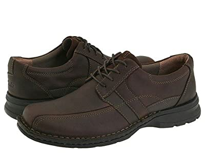 Clarks Espace (Brown Oily Leather) Men