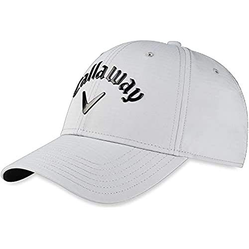 Callaway Liquid Metal 2020 Gorra Golf Unisex-Adult, Plata / Negro, Talla única