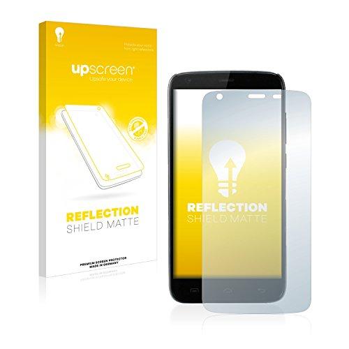 upscreen Entspiegelungs-Schutzfolie kompatibel mit Doogee T6 Pro – Anti-Reflex Bildschirmschutz-Folie Matt