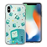 WiLLBee Compatible with iPhone XR Case Adventure Time Clear TPU Cute Soft Jelly Cover - Cuty Pattern BMO