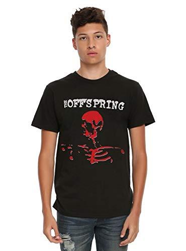 Fashion Men's T-Shirt Funny T Shirt The Offspring Smash T-Shirt Men's Short Sleeve Shirt