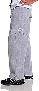 Men's Heavyweight Fleece Cargo Pants