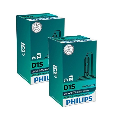 PHILIPS Xenon X-TremeVision Gen2 + 150% D1S HID Xenon Bombillas Juego de dos 85415XV2C1
