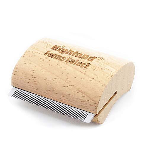 Highland Farms Select Deshedding Grooming Tool for...