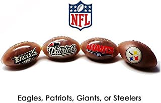 Official NFL Squishy Mini Football Stress Relief Toy (2 Pack - Same Team)