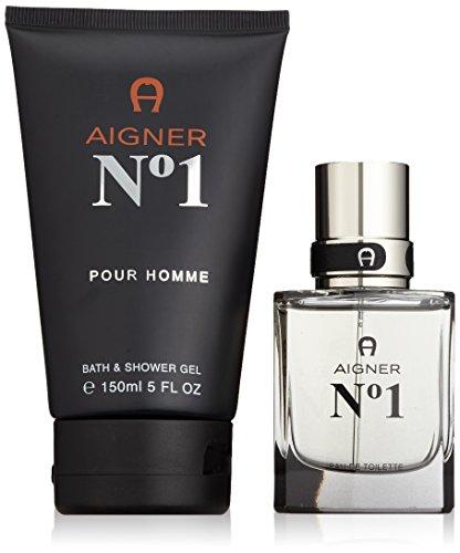 Etienne Aigner Number 1 Set homme/men, Eau de Toilette, Vaporisateur/Spray, Showergel, 1er Pack (1 x 180 ml)