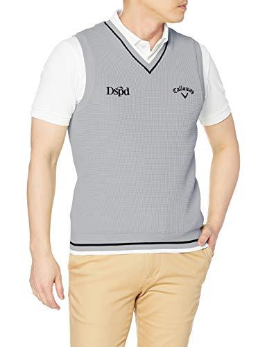 [キャロウェイ] [メンズ] セーターベスト (ロゴ・撥水セーター) / 241-1119501 / ゴルフ 020_グレー M