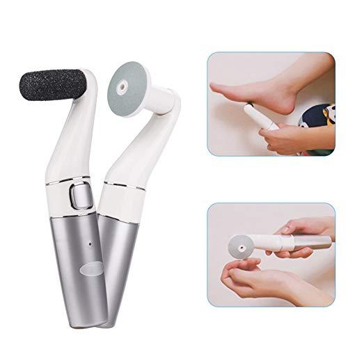 ZYFWBDZ Máquina eléctrica para pulir pies de pedicura eléctrica, Mejor Herramienta de pedicura Recargable, Cuidado de los pies grieta talón Piel Muerta, eliminación de Callos de maíz Mujer