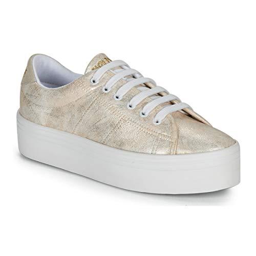 No Name Plato Sneaker Sneaker Damen Gold - 40 - Sneaker Low Shoes