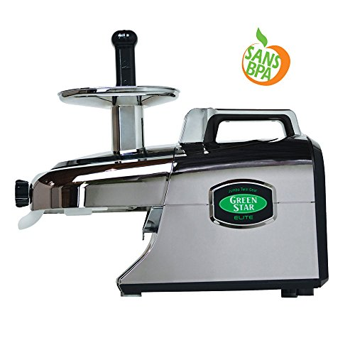 Extracteur de jus GreenStar Elite Chromé 5050
