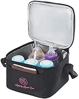 Baby Bottle Breastmilk Cooler Bag - Insulated Breast Milk Storage for Breastfeeding Moms - Fits Into Medela Breastpump Tote …