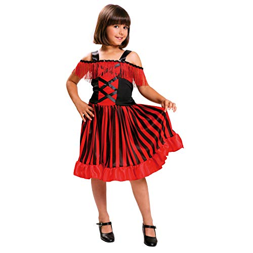 My Other Me - Disfraz de Can-can, talla 5-6 años (Viving Costumes MOM00880)