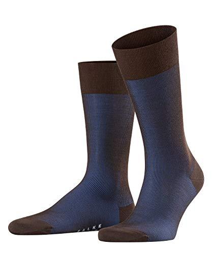 FALKE Herren Fine Shadow Wool M SO Socken, Blickdicht, Braun (Brown 5933), 41-42