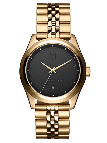 MVMT Herren Analog Quarz Uhr mit Edelstahl Armband D-TC01-BG