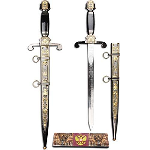 Espada Aguia Bicefala Cavaleiro Templario Maçonica Ke1258