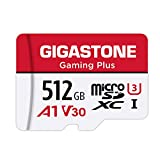 Gigastone マイクロSDカード 512GB Micro SD Card Nintendo Switch 動作確認済 SD アダプタ付 adaptor MicroSDXC A1 U3 V30 C10 100MB/S 高速 microsdカード UHS-I Full HD & 4K UHD動画 国内正規品