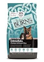 The original Burns recipe from 1993 Developed by Veterinary Surgeon, John Burns Award-winning recipe Natural and complete diet Hypoallergenic Highly digestible Suitable for sensitive dogs