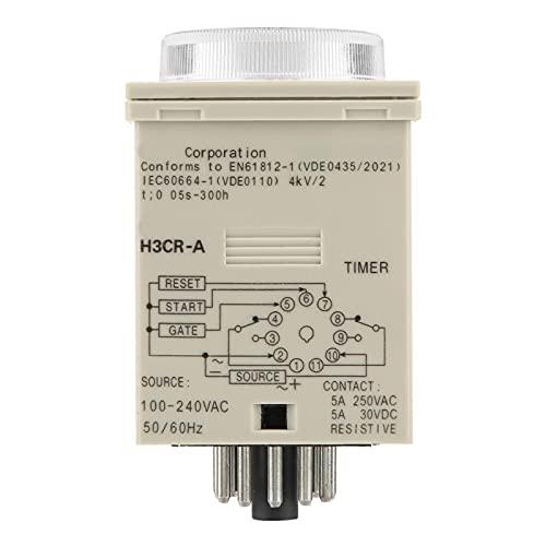Interruptores de temporizador, relé de temporizador de retardo H3CR-A Impermeable Estable Alta precisión Ajustable para comunicación de control remoto, Control automático, Mecatrónica