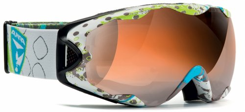 R-Tech S, overcross white HYBRID-mirror orange sph., -