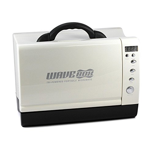 Microondas 'Wavebox' 24V / 7 litros para camión, caravana, autobús y barco, incluye kit de instalación con cable de conexión de 3 m