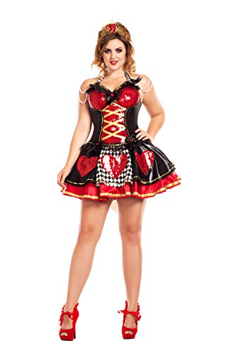 Off with their Heads Queen of Hearts Plus Size Adult Costume – Plus Size 2X