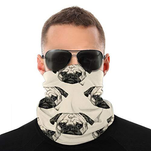 Fumar Bulldog gorro, protector para la cara, pasamontañas y cuello