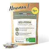 Vitamine B12 BIO & vegan   3 formes B12 naturelles & actives Methylcobalamine Adénosylcobalamine   Sans additifs   60 gélules